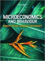 Microeconomics and Behaviour, 3e