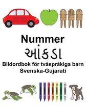 Svenska-Gujarati Nummer/આંકડા Bildordbok foer tvasprakiga barn