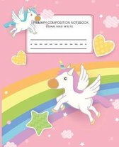 Primary composition notebook draw and write: Primary Story Journal notebook and Picture Space draw and write for kindergarten grades k-2
