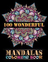 100 Wonderful Mandalas Coloring Book