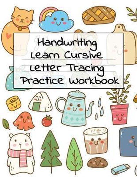 Handwriting Learn Cursive Letter Tracing Practice Workbok