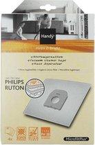 Handy  Type PH38  - Stofzuigerzakken - 4 stuks + 1 Micro Hygiënefilter
