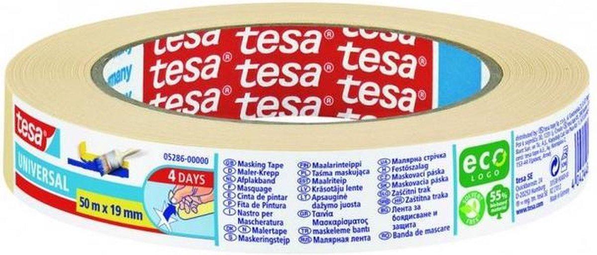 Tesa Afplakband Afplaktape - 50M x 19MM