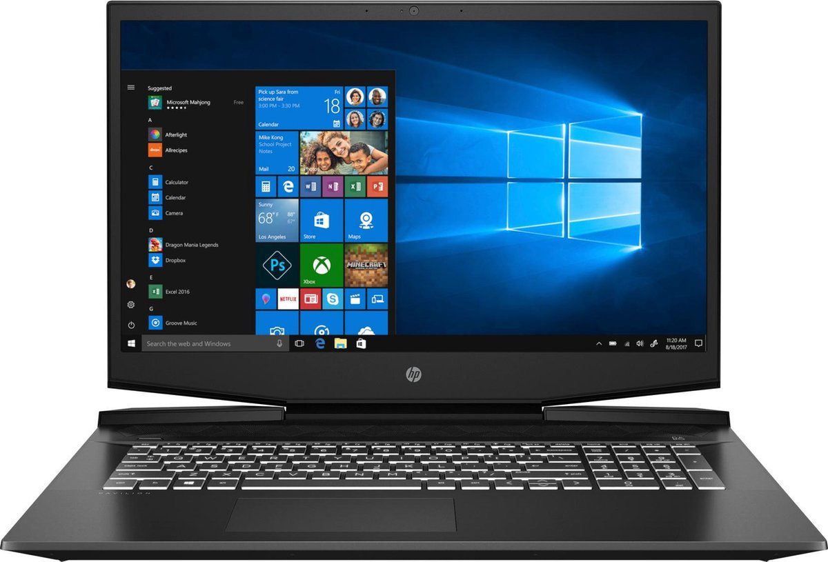 HP Pavilion 17-cd1760nd - Gaming Laptop - 17.3 Inch