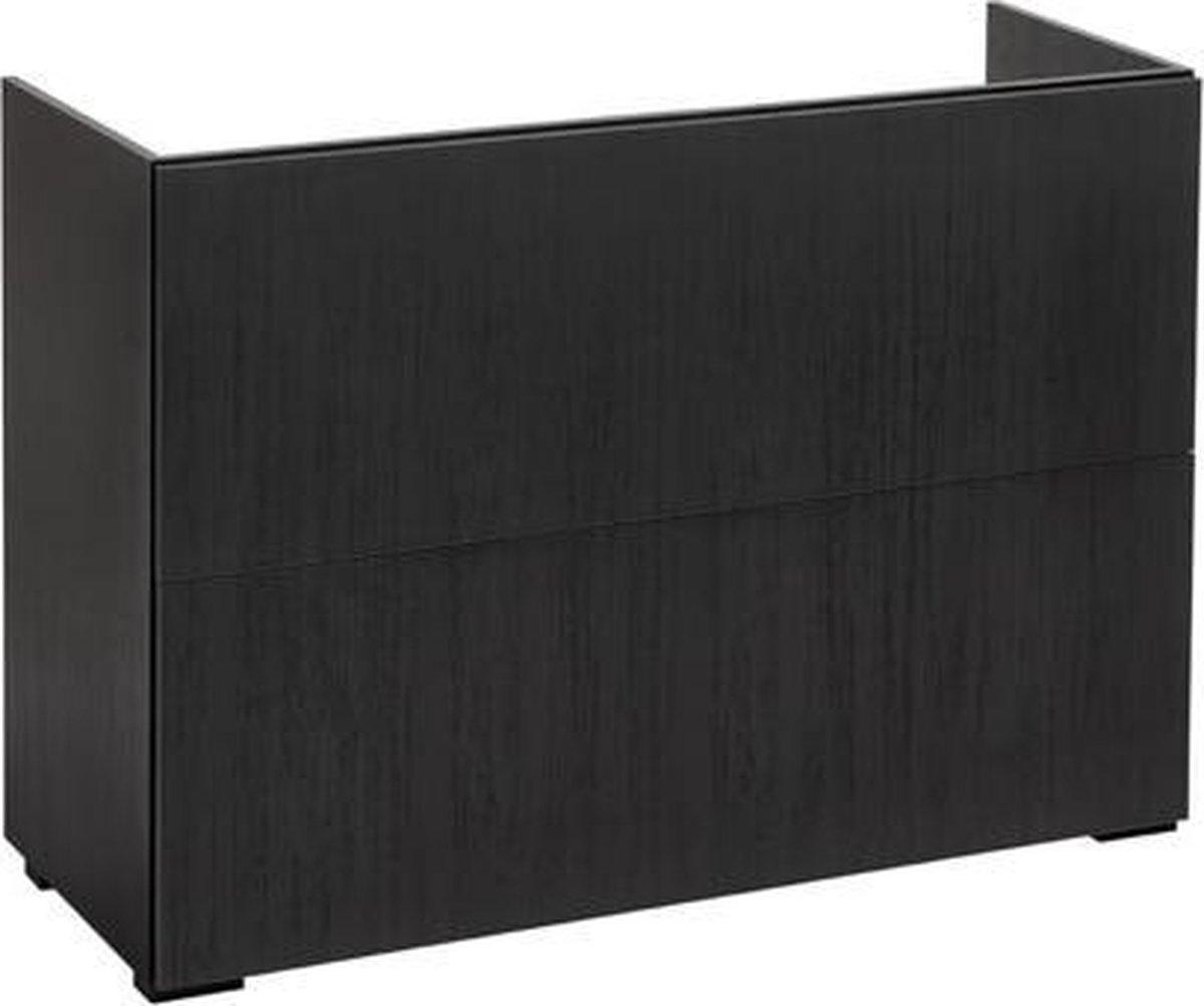 Vtwonen baden Cube wastafel onderkast 120x84cm oak black