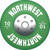 Northwest Premium Competitie Halterschijf | 10 KG
