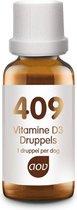 AOV 409 Vitamine D3 druppels (25 mcg) - 15 ml - Vitaminen - Voedingssupplementen