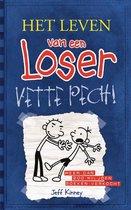 Boek cover Het leven van een Loser 2 - Vette pech! van Jeff Kinney
