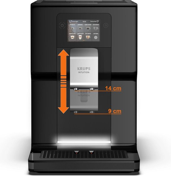 Krups Intuition Preference  EA8738 - Espressomachine - Inclusief melkreservoir