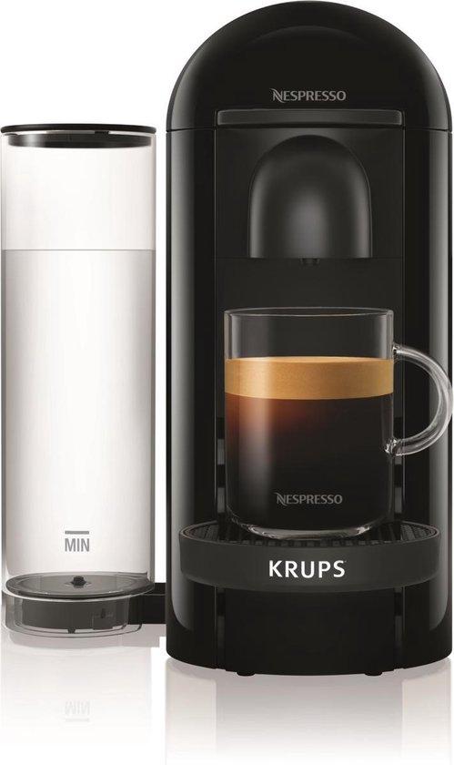 Krups Nespresso Vertuo + XN9038 - Koffiecupmachine - Zwart