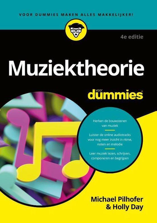Boek cover Voor Dummies  -   Muziektheorie voor Dummies van Michael Pilhofer (Paperback)