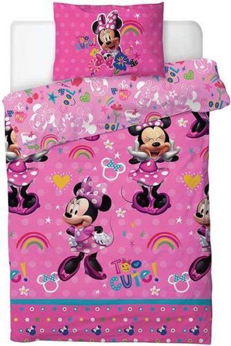 Minnie Mouse dekbedovertrek - 1 persoons - Disney dekbed kopen
