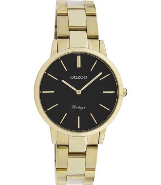 Oozoo Dames horloge-C20047 goud (34mm)
