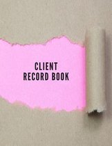 Client Record Book: Smart Alphabetical Client Tracker- Professional Business To do list Book for Hair Stylist, Therapist & Nails Stylist-