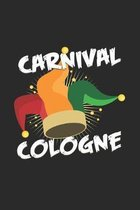 Carnival cologne: 6x9 Carnival - grid - squared paper - notebook - notes