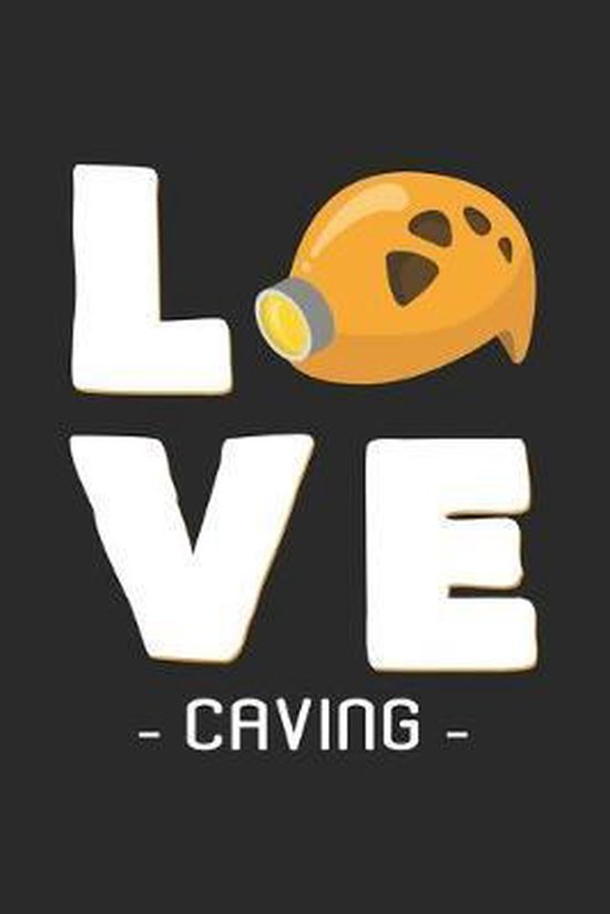 Love Caving: 6x9 Caving - grid - squared paper - notebook - notes