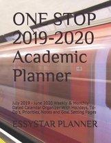 ONE STOP 2019-2020 Academic Planner