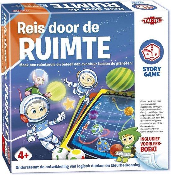 Thumbnail van een extra afbeelding van het spel Story Game Reis door de ruimte