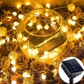 J-Pro Tuinverlichting op Zonne-Energie - 20 Blurry Solar LED 5m - Lichtsnoer - Buiten Lichtslinger