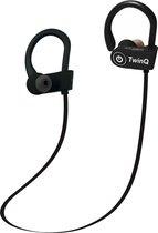 TwinQ Draadloze In-ear Bluetooth Sport Oordopjes - Voor hardlopen of fitness - Zwart