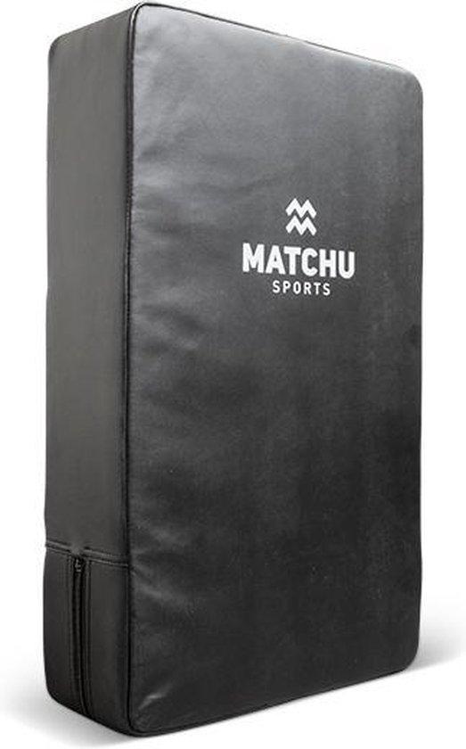 Matchu Sports - Trap- en stootkussen GROOT – 60 x 35 x 12 cm - Zwart