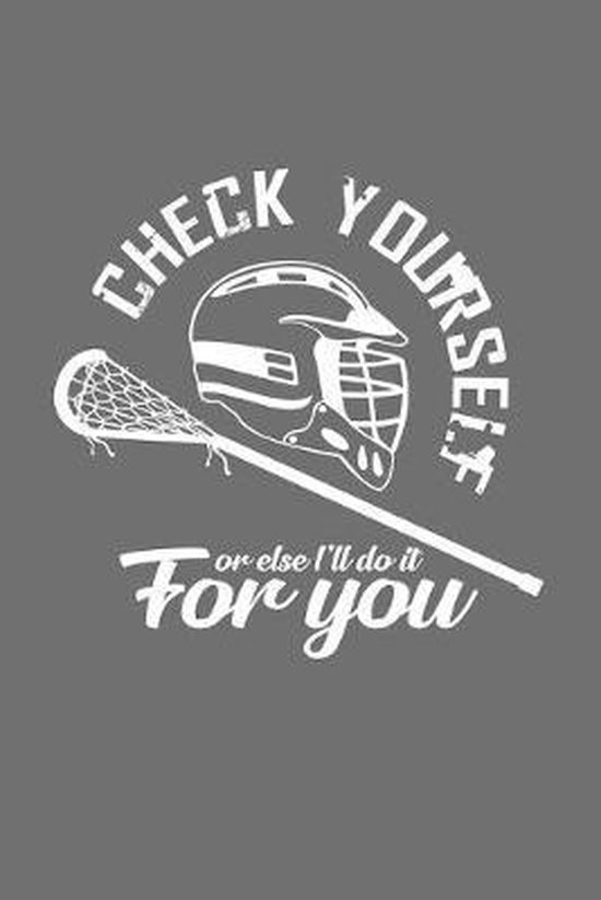 Check yourself: 6x9 Lacrosse - dotgrid - dot grid paper - notebook - notes