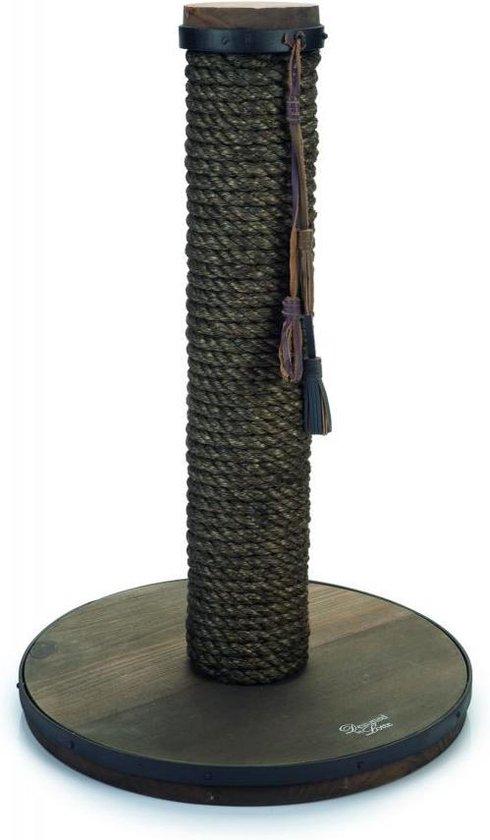 Designed by Lotte Lumpra - Krabpaal - Hout - 35x35x55 cm