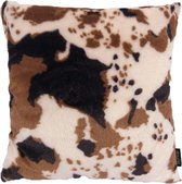 Hairy Cow / Harige Koe Kussenhoes | Polyester | 45 x 45 cm