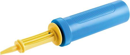 Amscan Ballonnenpomp 35 Cm Blauw/geel