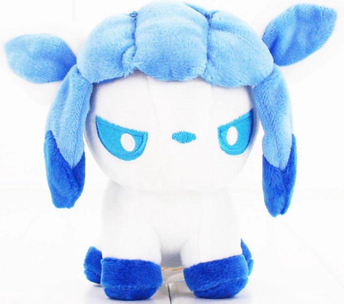 Knuffel Pokemon Glaceon - bekend van de TV - creator - Pokémon - pokéball - speelgoed - Plushe