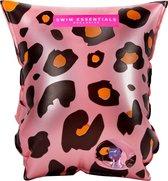 Swim Essentials Roze Panterprint Zwembandjes - 0-2 jaar - Zwemmen - Veiligheid - Baby's - 0-15 kg - Zwemvleugels