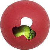 Bal in een bal! - De uitdaging voor honden - Interactief hondenspeeltje - 12.7 x 7.6 cm -  Hondenbal Hondenspeeltje Hondenspeelgoed