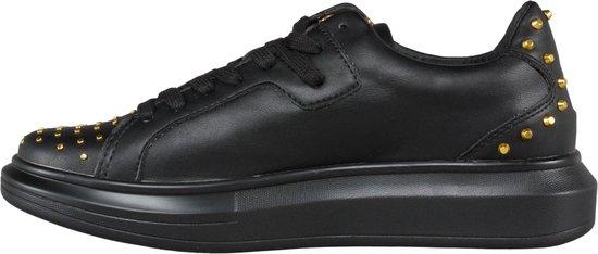 GUESS Salerno Heren Sneakers - Zwart - Maat 42