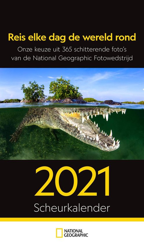 National Geographic Scheurkalender 2021