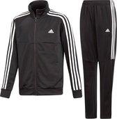 adidas TS TIRO Jongens Trainingspak - Top:Black/White Bottom:Black/White - Maat 164