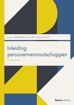 Boek cover Boom Juridische studieboeken  -   Inleiding personenvennootschappen van J.J.A. Hamers (Paperback)