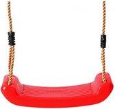 Swing King schommelzitje kunststof 43cm - rood