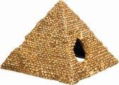 Nobby aqua deco egyptische pyramide - 10,5 x 10 x 8 cm