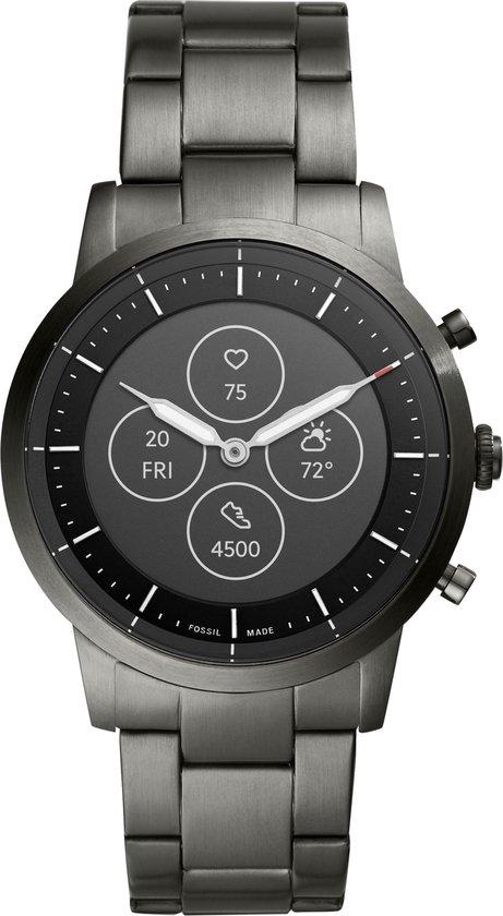 Fossil Collider Hybrid HR Smartwatch FTW7009 - Grijs