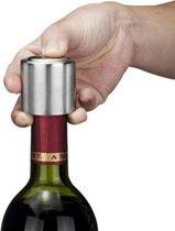 Medicca - Vacuumpomp - Wijn Vacuumpomp - Vacuumpomp Wijn - Vacuumpomp Handmatig - Wijndop - Wijnstopper - Flessenstop - Wijnafsluiter - Wijn Vacuüm - Metaal