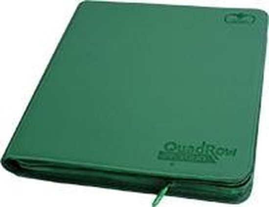 Afbeelding van het spel 12-Pocket QuadRow ZipFolio XenoSkin Green