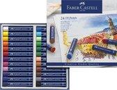 oliepastels Faber Castell Creative Studio etui a 24 stuks. FC-127024