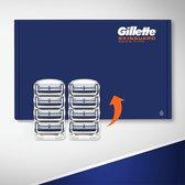 Gillette SkinGuard Sensitive Scheermesjes Mannen - 8 Stuks - Brievenbus Verpakking