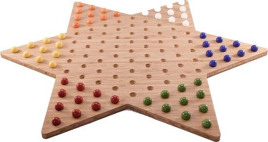 Afbeelding van het spel Ster Halma bord