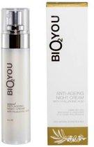 Bio2You natuurlijke anti-veroudering nacht crème met hyaluronzuur