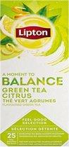 Lipton Feel Good Selection - Green Tea Citrus - 25 tea bags