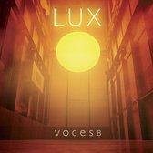 CD cover van Lux van Voces8