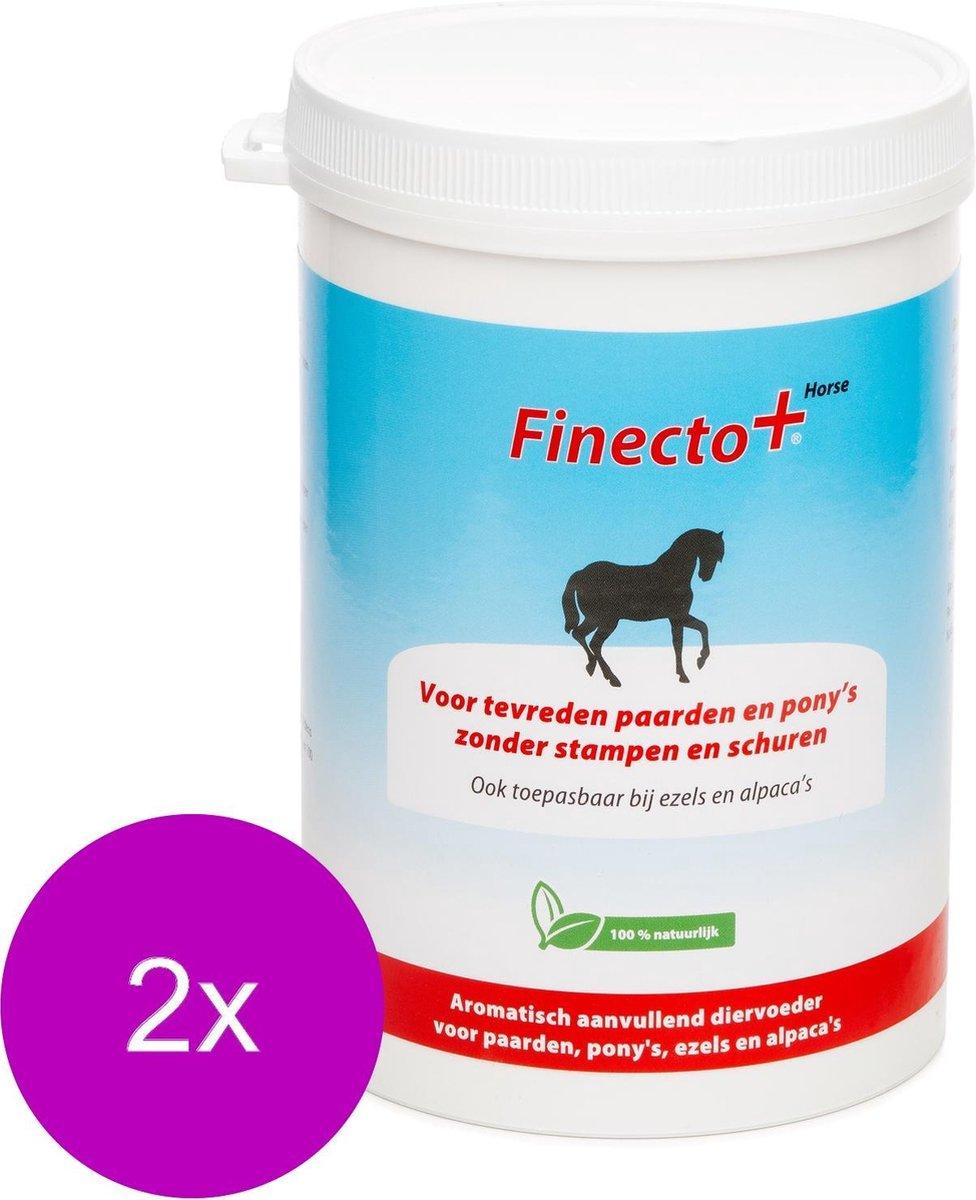 Finecto Horse - Voedingssupplement - Parasieten - 2 x 600 g