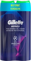 Gillette Series Sensitive Scheergel Mannen - 2x200 ml