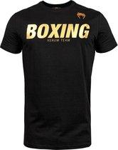 Venum T-Shirt Boxing VT Zwart/Goud Large